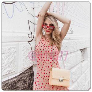 fa31a113 Zara Dresses   Bloggers Fav Nwt Semi Sheer Polka Dot Dress   Poshmark